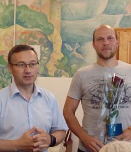 Глава Администрации поздравил Чугунова Ивана с днем рождения