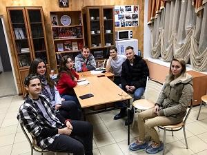Активисты Вороновского провели собрание