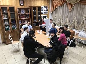 Представители Молодежной палаты провели собрание