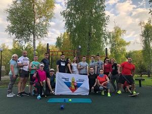 Традиционная фитнес-тренировка в «Парке Коммунальщиков» состоится в воскресенье