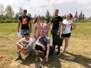 Молодые парламентарии Вороновского приняли участие в квесте