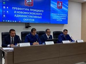 Прокурор Троицкого и Новомосковского административного округа провел выездной прием населения