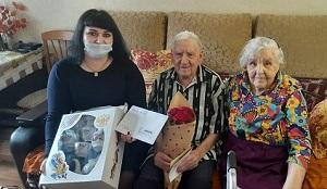 Сегодня празднует 90-летний юбилей труженик тыла Белоконь Николай Васильевич