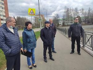 Евгений Иванов проинспектировал исполнение работ в рамках месячника благоустройства
