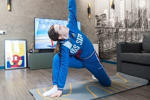 Любители спорта смогут посетить онлайн-тренировку