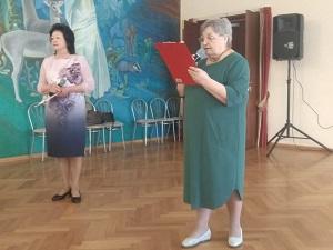 В ДК «Дружба» прошла встреча участниц женского клуба