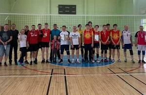 Турнир по волейболу прошел в Вороновском