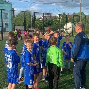 Товарищеский матч по футболу прошёл в СК «Вороново»