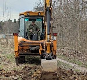 Специалисты начали работы по устройству дорожно-тропиночной сети в посёлке «Д/о Вороново»