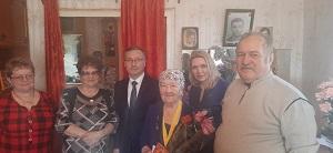 Жительница поселения отметила 95-летний юбилей