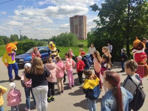 В Вороновском прошла праздничная программа ко Дню защиты детей