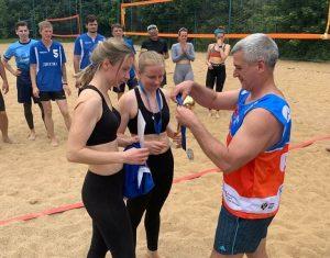 Женская команда Спортивного клуба «Вороново» по волейболу заняли второе место в соревнованиях