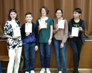 Ученики школы №2073 успешно прошли математический курс