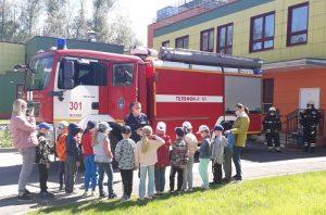 Безопасное лето вместе с пожарными ТиНАО