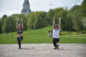 Тренировки в московских парках пройдут в рамках проекта «Спортивные выходные»