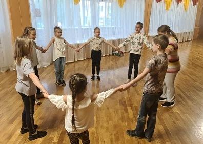 Игровую программу для детей провели в ДК «Дружба»