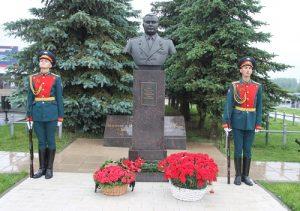 В Вороновском открыли памятник Герою Советского союза