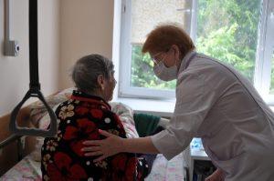 Посвященный отделению сестринского ухода для взрослых пост опубликовали в Вороновской больнице