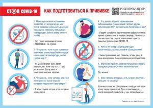 О рекомендациях, как правильно подготовиться к вакцинации от коронавируса