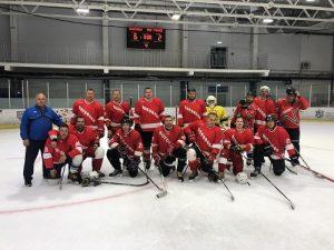 Команда «Вороново» выиграла хоккейный матч
