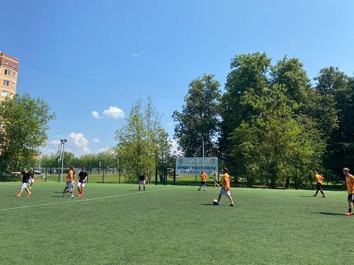 Команда Молодёжной палаты Вороновского приняла участие в товарищеском матче