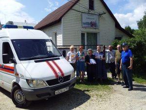Специалисты ПСО № 302 провели профилактические мероприятия в Вороновском