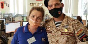 Сотрудники Системы 112 Москвы после службы в армии вновь приступили к работе