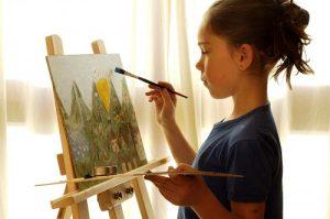Любители рисования смогут принять участие в бесплатном онлайн мастер-классе