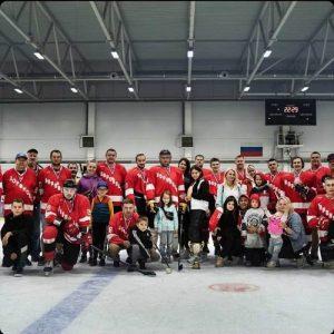 Хоккейная команда «Вороново» завершила летний турнир победой