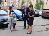 Госавтоинспекция Новой Москвы совместно с Общественным советом провели профилактическое мероприятие «Безопасный двор»