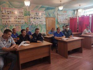 Заседание комиссии по ЧС прошло в администрации поселения Вороновское