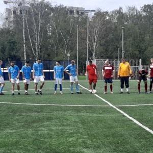 Футболисты Вороновского готовятся к очередной игре