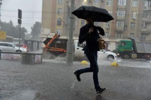 Москвичам сообщили о «желтом» уровне погодной опасности