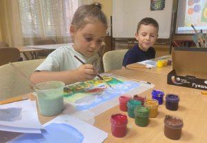 Мастер-класс по рисованию прошел в Доме культуры «Дружба» поселения Вороновское