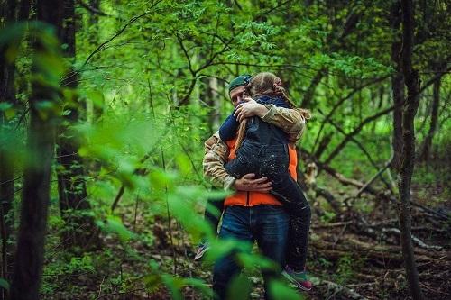 Беспечность в лесу приводит к беде