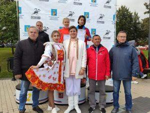 В Вороновском прошли соревнования по спортивной ходьбе «Кубок России»