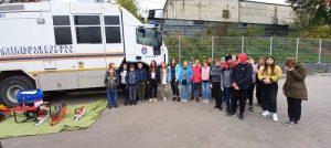 Московские спасатели на воде провели экскурсии для школьников столицы