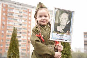 Жителям Москвы рассказали об акции «Лица Победы»