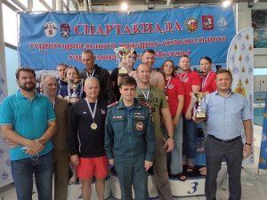 Команда столичного Департамента ГОЧС и ПБ вошла в тройку лидеров Спартакиады