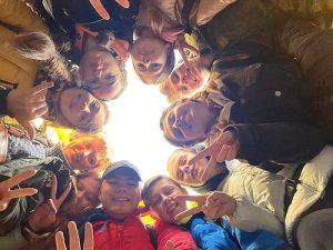 Кадеты Вороновской школы приняли участие в походе