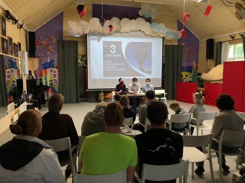 Сотрудники УВД по ТиНАО провели профилактическую беседу с воспитанниками детского дома