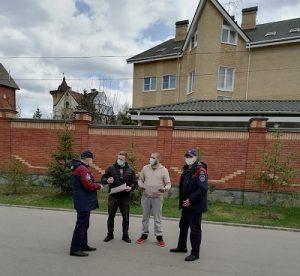 Специалисты пожарного отряда проводят профилактическое беседы в Вороновском