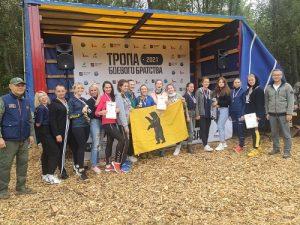 В Вороновском прошла «Тропа Боевого Братства»
