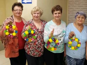 Мастер-класс состоялся в Центре реабилитации «Ясенки»