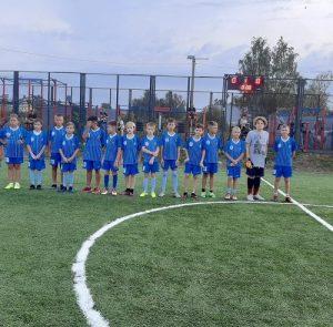 Футбольный матч прошёл на территории СК «Вороново»