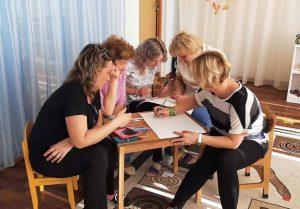 Педагоги образовательной площадки «Радуга» стали участниками деловой игры