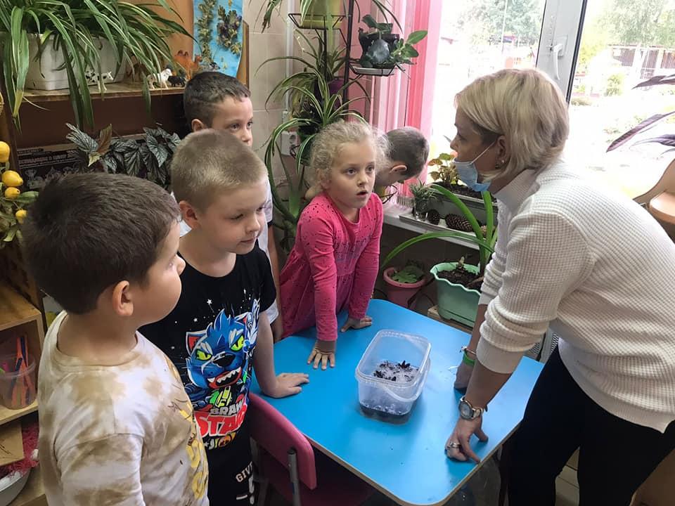 Занятие кружка «Юный эколог» прошло на образовательной площадке «Радуга»