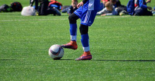 Тренировку в футбольной секции провели в Спортивном комплексе «Вороново»
