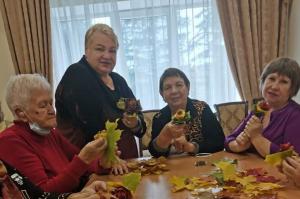 Творческий мастер-класс прошел в Центре реабилитации «Ясенки»